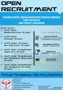 Open Recruitment ILMPI Wilayah III